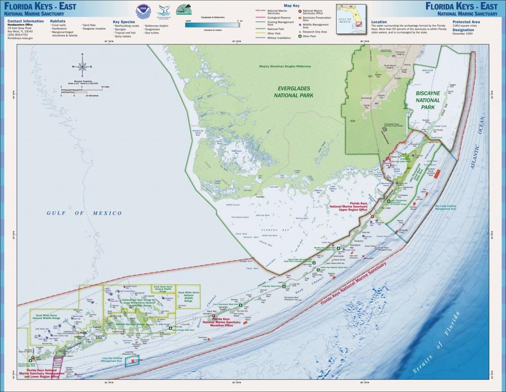 Nasa - Detecting Detrimental Change In Coral Reefs - Coral Reefs In Florida Map