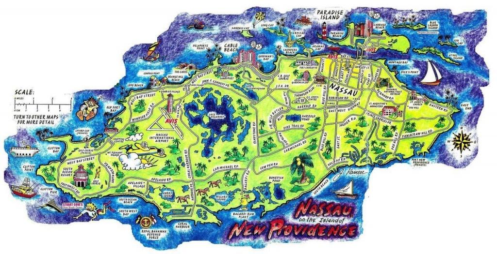 Nassau Bahamas Map | Concerts And Places I've Seen In 2019 | Bahamas - Printable Map Of Nassau Bahamas