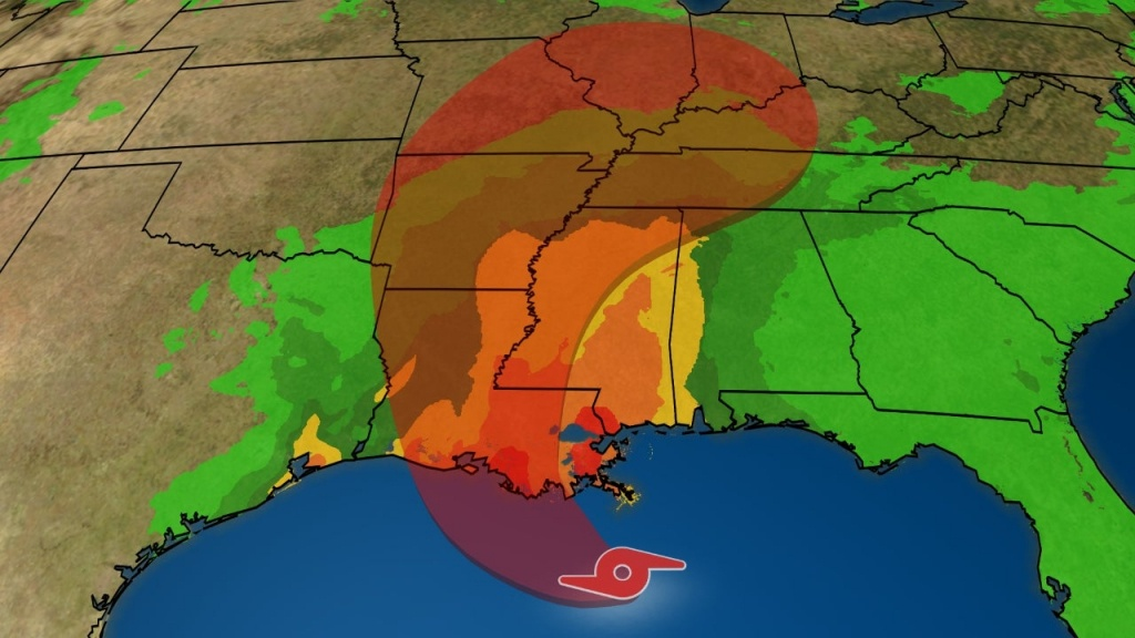 National And Local Weather Radar, Daily Forecast, Hurricane And - Weather Channel Florida Map