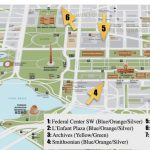 National Mall Guide And Things To Do | Free Toursfoot   Printable Walking Tour Map Of Washington Dc