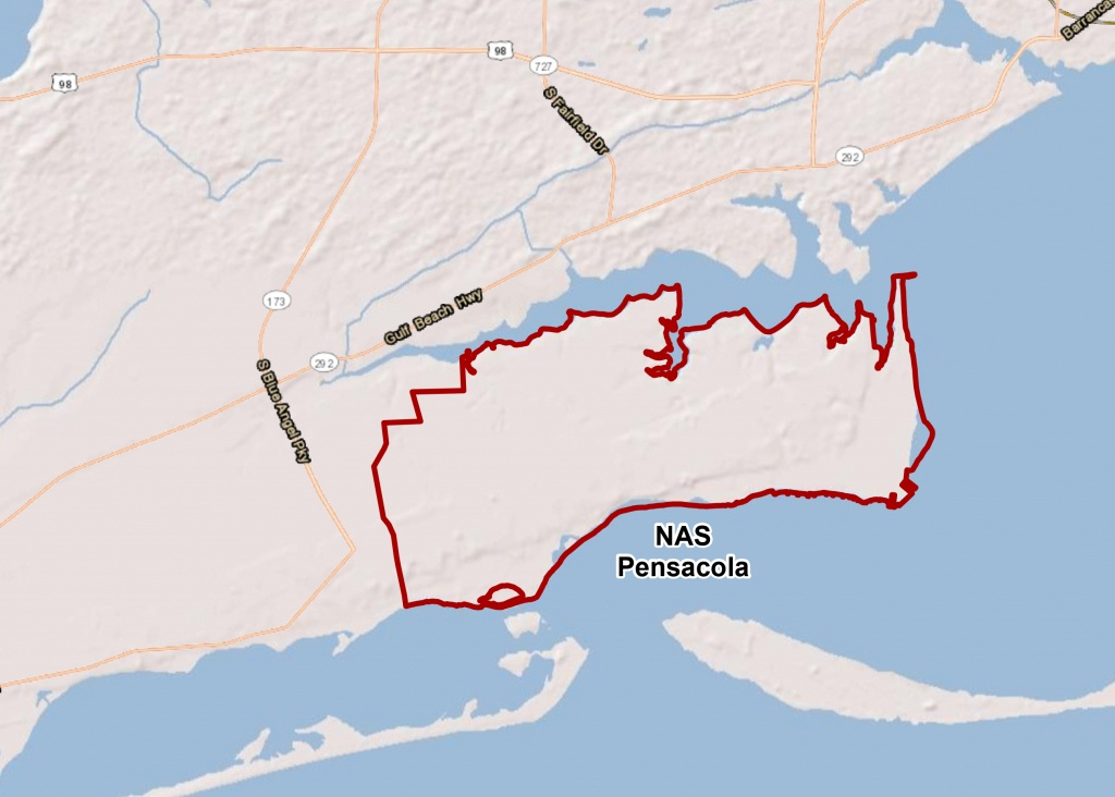 Naval Air Station Pensacola - Florida Navy Bases Map
