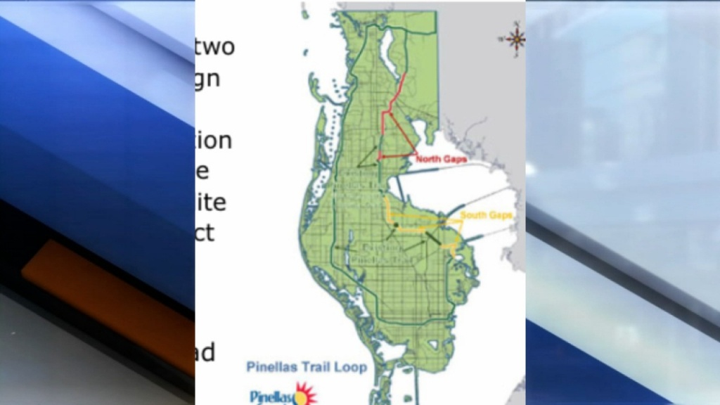 Neighbors Say They Don't Want To See The Pinellas Trail Extension In - Pinellas Trail Map Florida