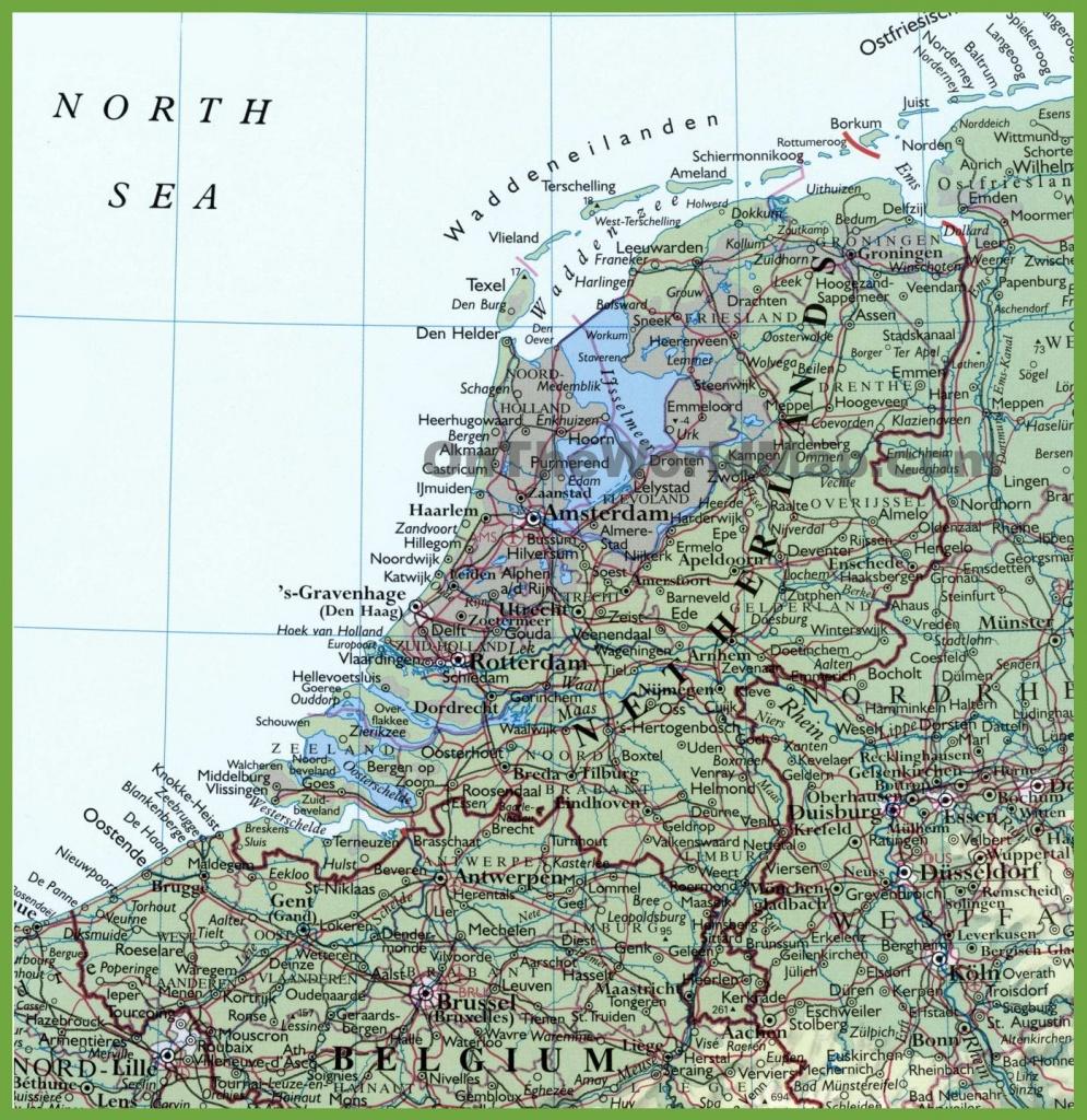 Netherlands Maps | Maps Of Netherlands - Printable Map Of Holland