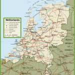 Netherlands Road Map   Printable Map Of The Netherlands