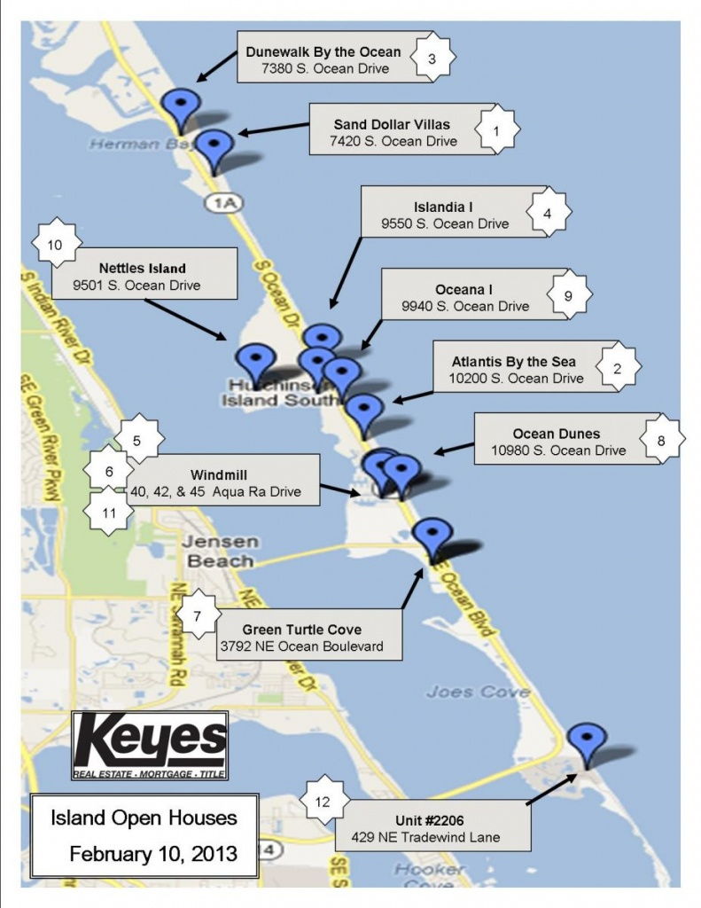 Nettles Island, Florida   The Pearson Group - Hutchinson Beach Florida Map