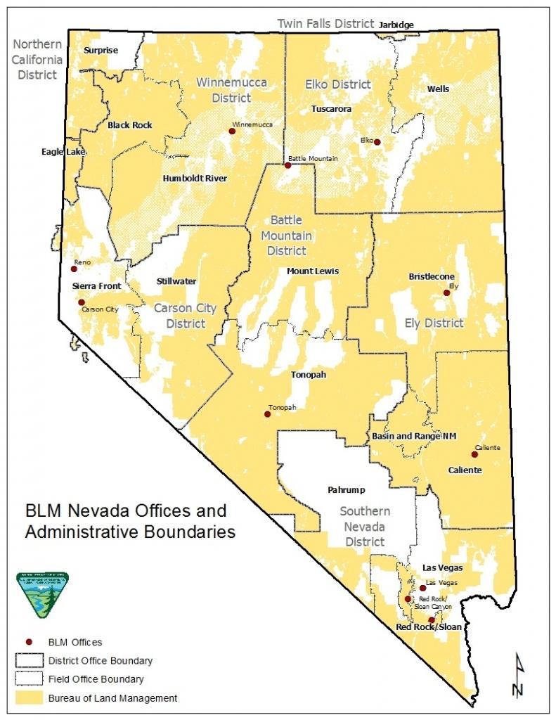 Nevada - Public Room   Bureau Of Land Management - Blm Maps Southern California