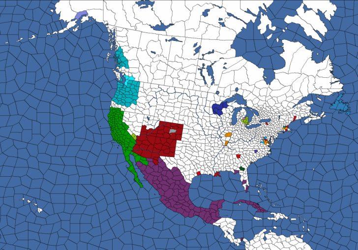 Map Of The New California Republic