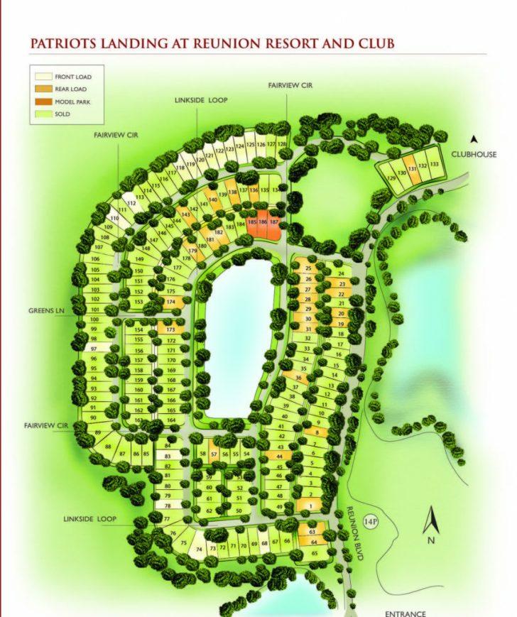 Reunion Florida Map