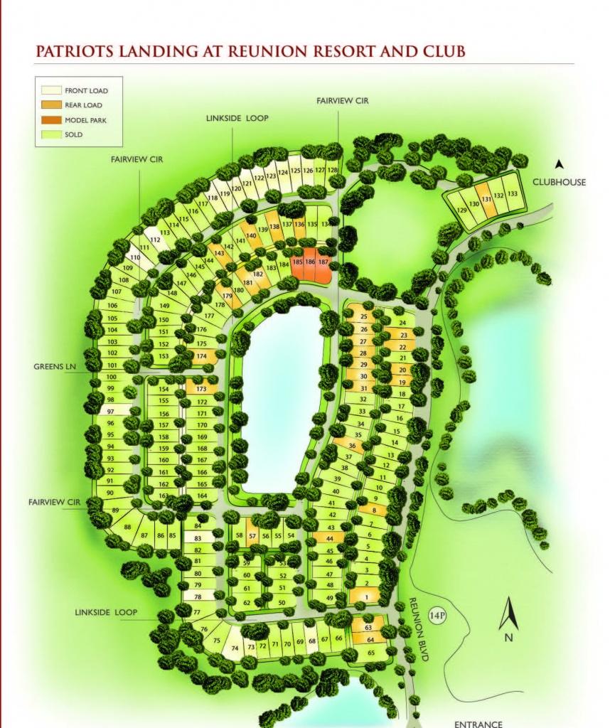 New Construction Opportunities In Reunion Resort Florida - Reunion Florida Map