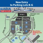 New Entry To Parking Lots B G Open | Austintexas.gov   The Official   Austin Texas Airport Terminal Map