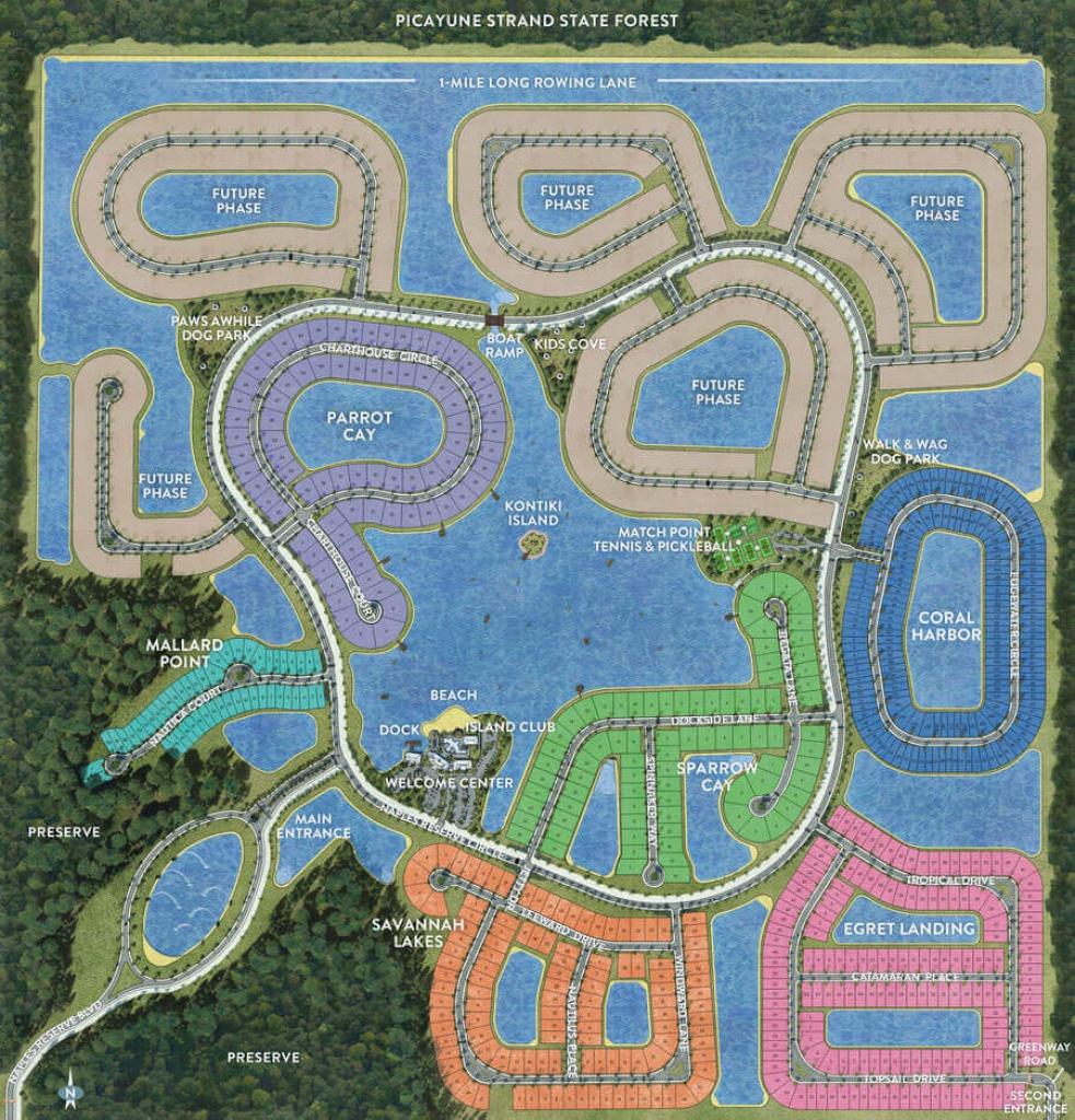 New Homes Naples Fl   South Naples   Naples Reserve - Map Of Naples Florida Neighborhoods
