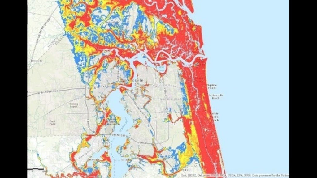 New Interactive Storm Surge Map Helps Residents See Potential - Nassau County Florida Flood Zone Map