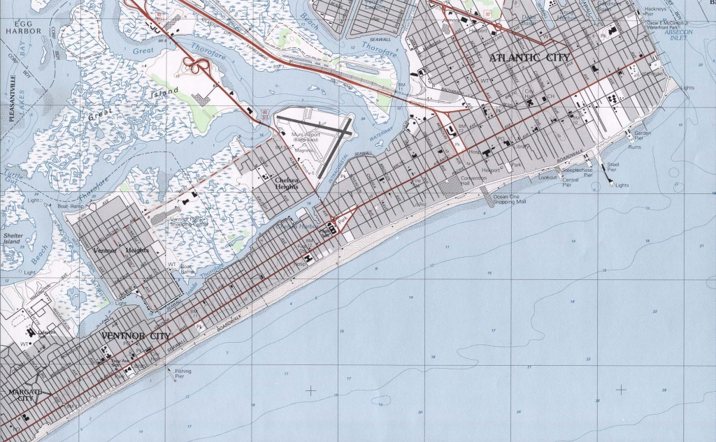 New Jersey Maps - Perry-Castañeda Map Collection - Ut Library Online - Printable Street Map Of Jersey City Nj