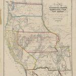 New Map Of California, Oregon, Washington, Utah And New Mexico   California Oregon Washington Map