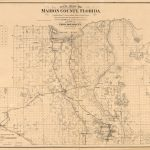 New Map Of Marion County, Florida | Library Of Congress   Marion County Florida Plat Maps