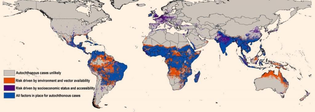 New Map Predicts Spread Of Zika Virus | Medicine | Sci-News - Zika Florida Map