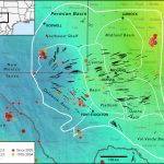 New Map Profiles Induced Earthquake Risk | Stanford News   Fracking In Texas Map