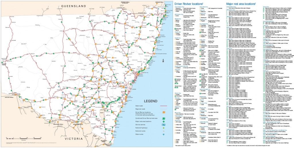 New South Wales State Maps   Australia   Maps Of Nsw (New South Wales) - Printable Map Of Nsw