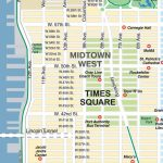 New York City Maps And Neighborhood Guide   Printable Map Of Times Square
