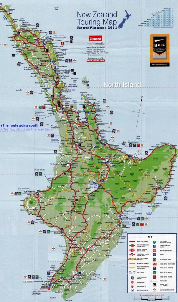New Zealand - Map North Islan… | Natural Geography Inspirations For - New Zealand North Island Map Printable