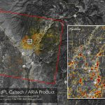 News   Updated Nasa Damage Map Of Camp Fire From Space   Fire Watch California Map
