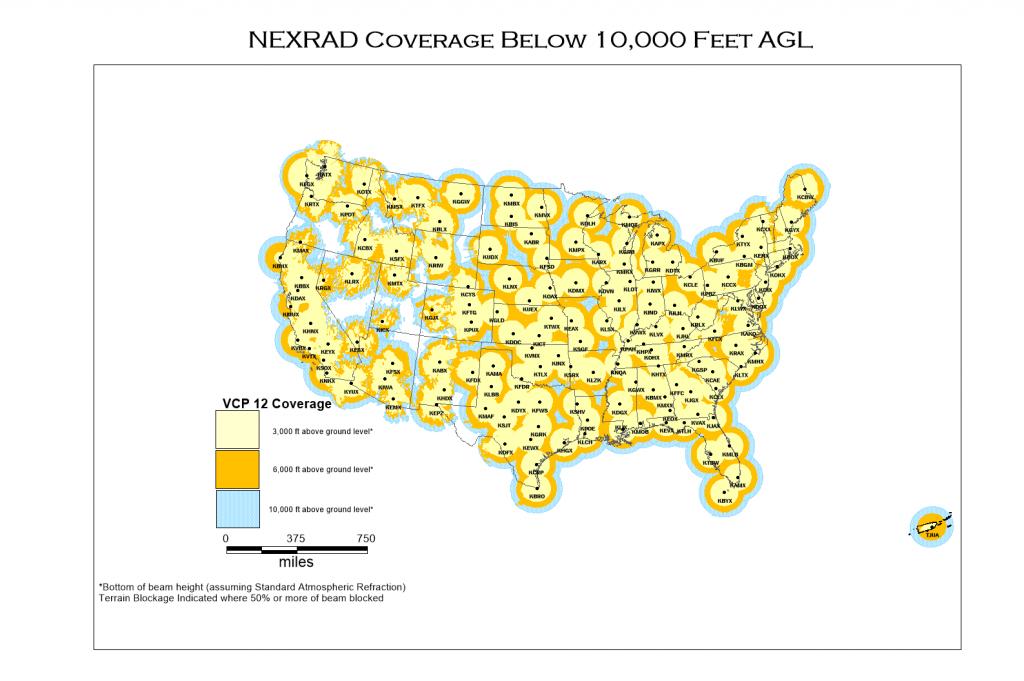 Nexrad And Tdwr Radar Locations - Radar Map For Houston Texas