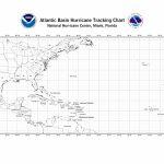 Nhc Blank Tracking Charts   Printable Hurricane Tracking Map 2016