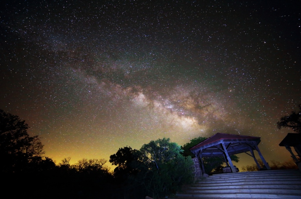 Night Skies   Welcome To Hill Country Alliance - Texas Night Sky Map