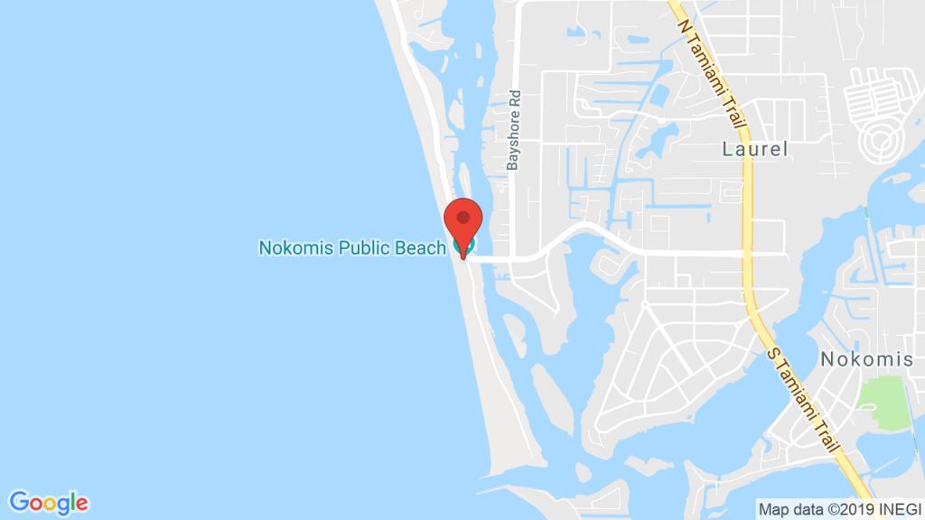 Nokomis Beach Pavilion In Nokomis, Fl - Concerts, Tickets, Map - Nokomis Florida Map