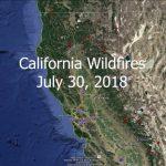 Norcal Wildfires   Google Earth Tour   Youtube   California Fire Map Google