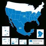 North American Map Regions   Garmin Support - Garmin California Map