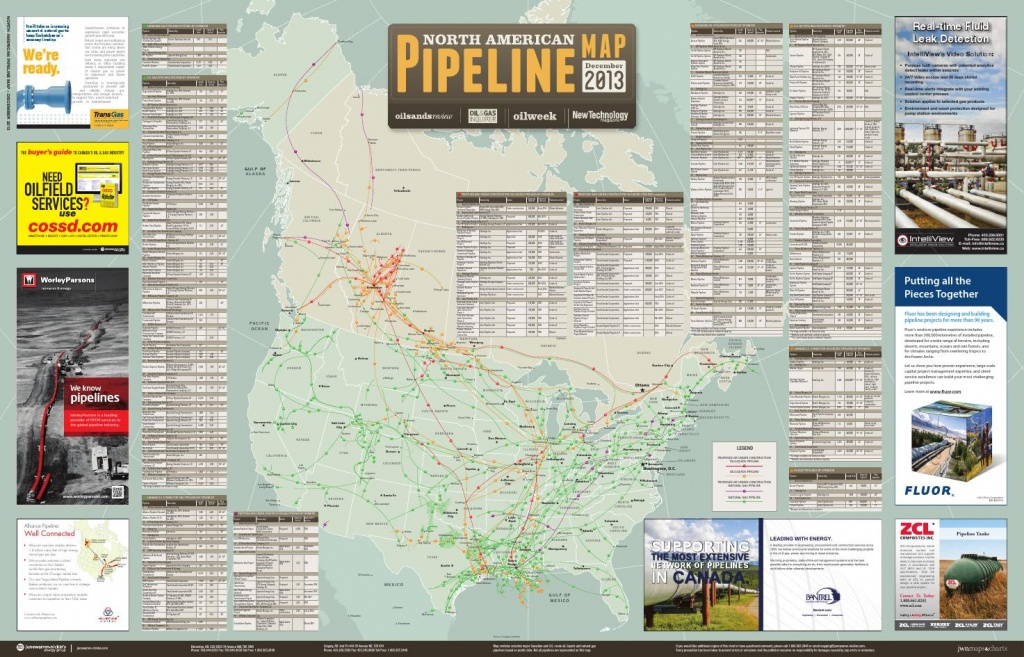North American Pipeline Map December 2013Jwn | Trusted Energy - Oneok Pipeline Map Texas