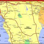 North Baja California - Maplets - Baja California Norte Map