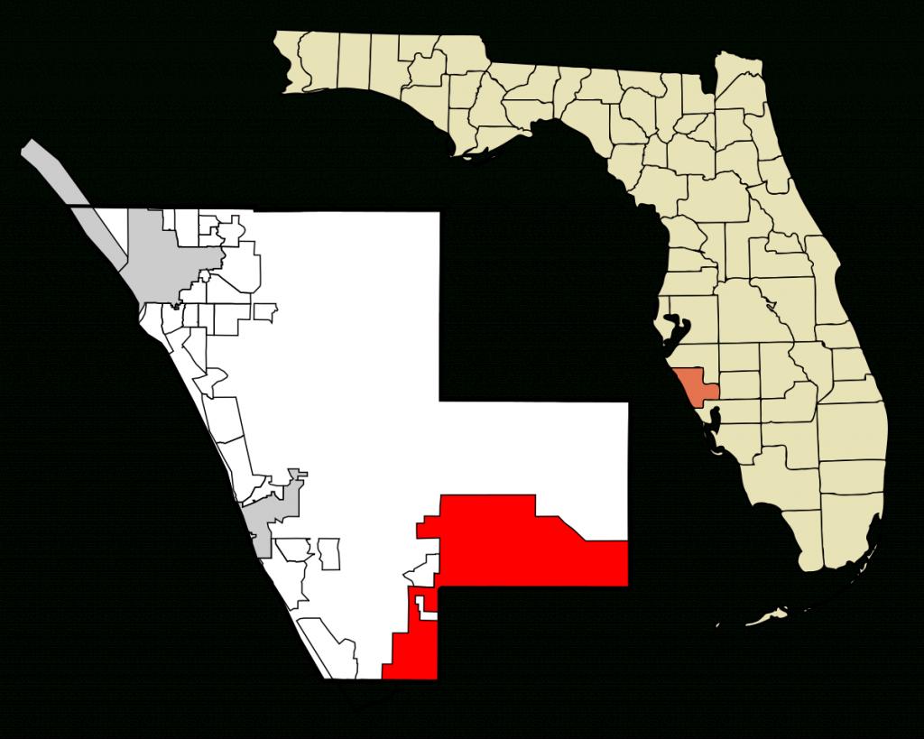 North Port, Florida - Wikipedia - Sarasota County Florida Elevation Map