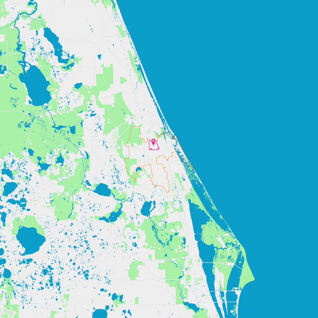 North Village Neighborhood Guide - New Smyrna Beach, Fl   Trulia - Smyrna Beach Florida Map