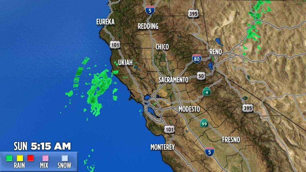Northern California | Abc7News - Northern California Radar Map
