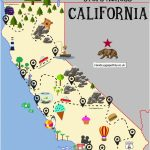 Northern California Attractions Map The Ultimate Road Trip Map Of   Northern California Attractions Map