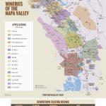 Northern California Wine Country Map Napa Valley Winery Map Plan   California Wine Country Map Napa