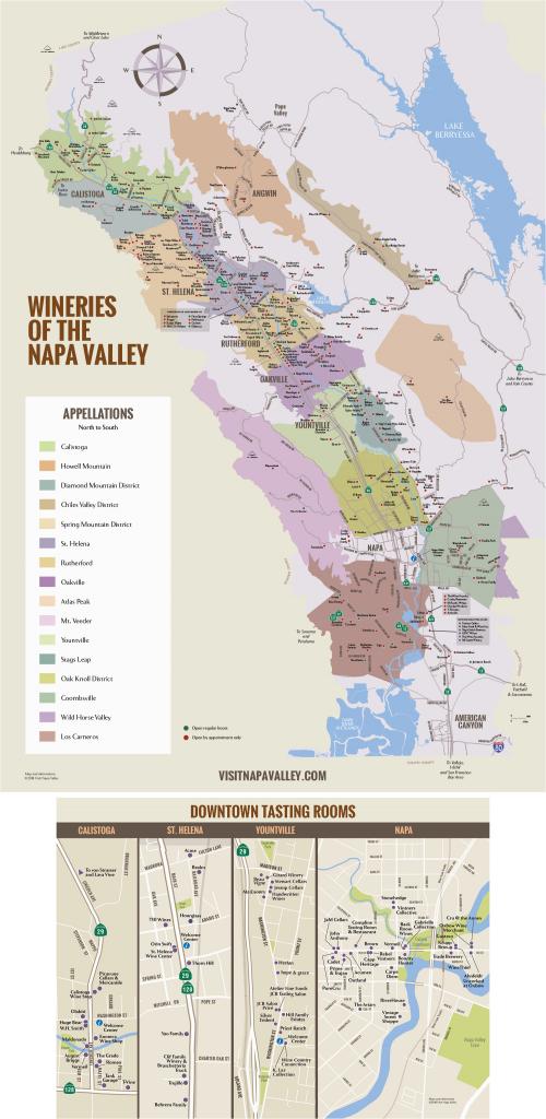 Northern California Wine Country Map Napa Valley Winery Map Plan - California Wine Country Map Napa