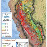 Norwest Modeled Historical Stream Temperature Climate Scenarios   Thermal California Map