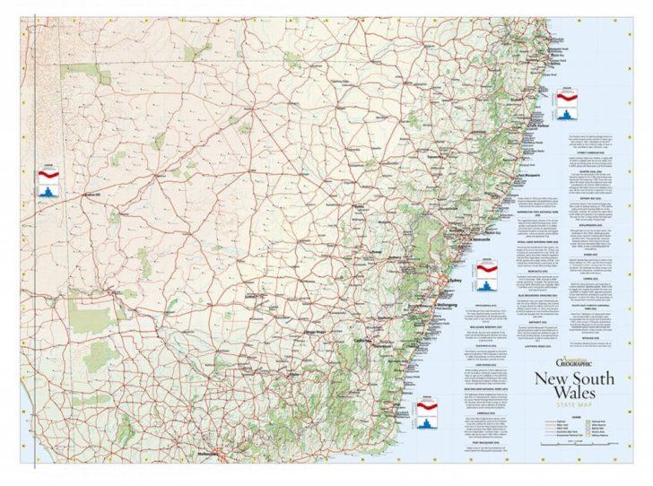 Printable Map Of Nsw