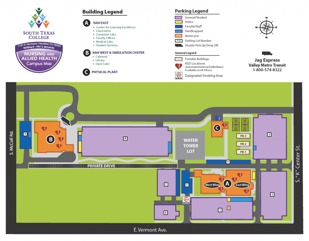 Nursing & Allied Health Campus - Mcallen | South Texas College - South Texas College Mid Valley Campus Map