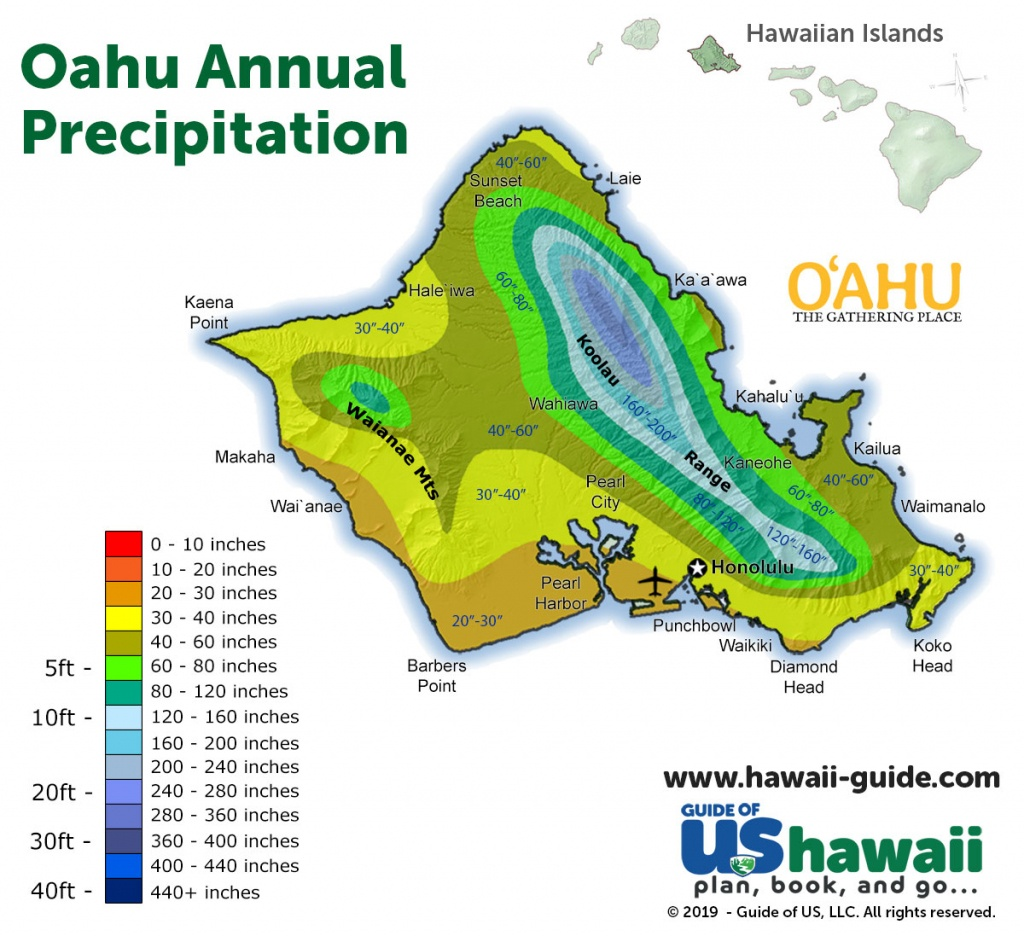 Oahu Maps - Oahu Map Printable