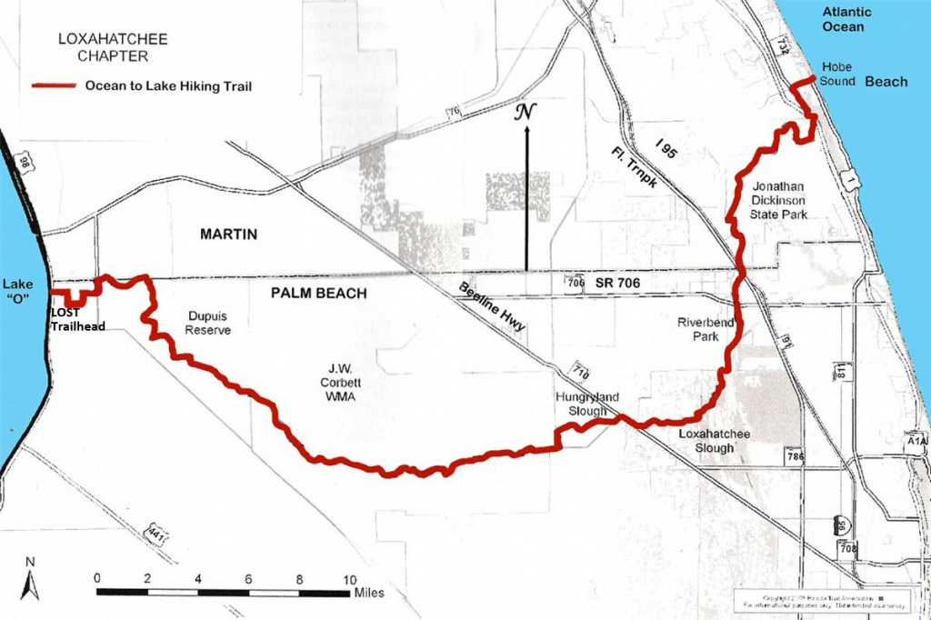Ocean To Lake Hiking Trail - Florida Trail Association Maps