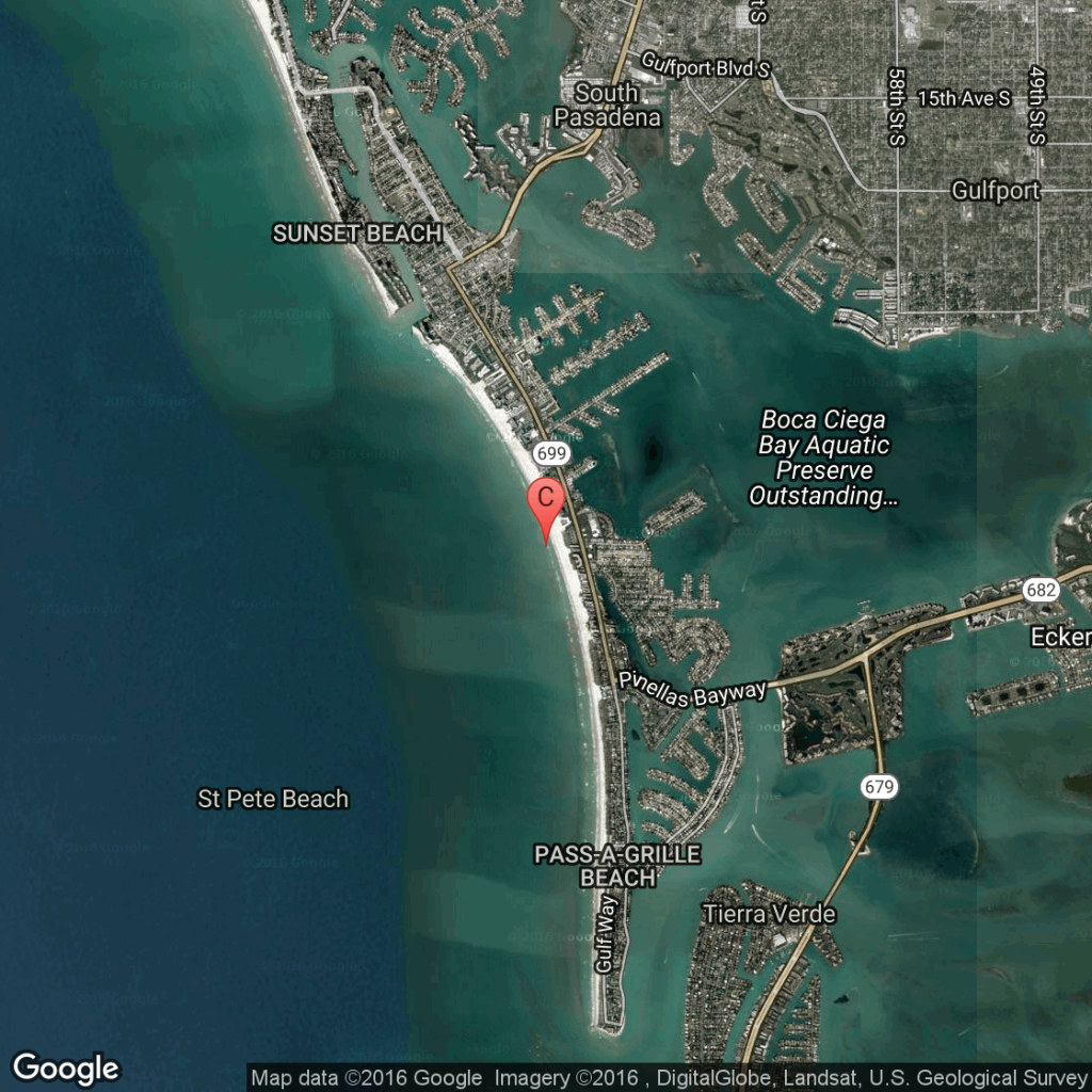 Oceanfront Hotels In St. Pete Beach, Florida | Usa Today - Map Of Florida Gulf Coast Hotels