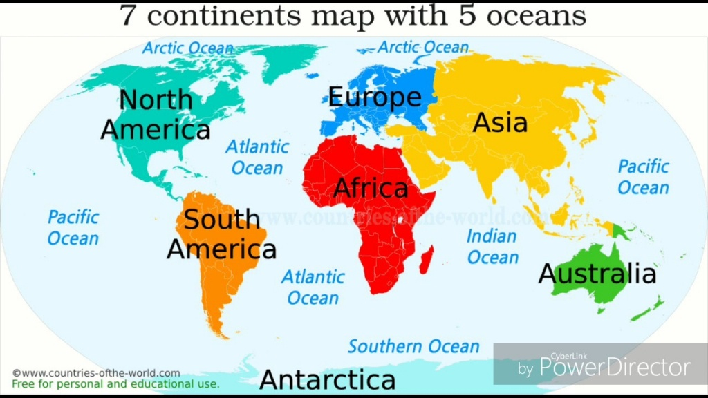 Oceans Of The World Seas Dk Find Out At Ocean Map Madriver Me - Continents And Oceans Map Quiz Printable