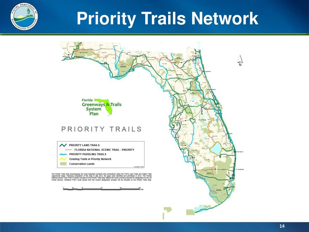 Office Of Greenways & Trails - Ppt Download - Florida Greenways And Trails Map
