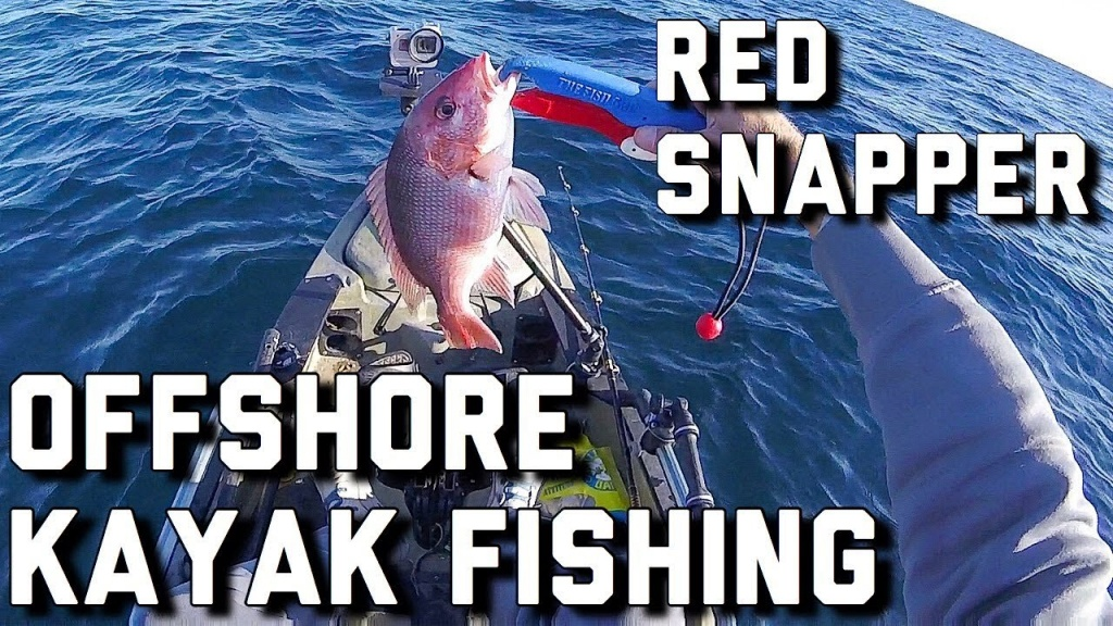 Offshore Kayak Fishing- Red Snapper In The Gulf Of Mexico- Florida - Texas Oil Rig Fishing Map