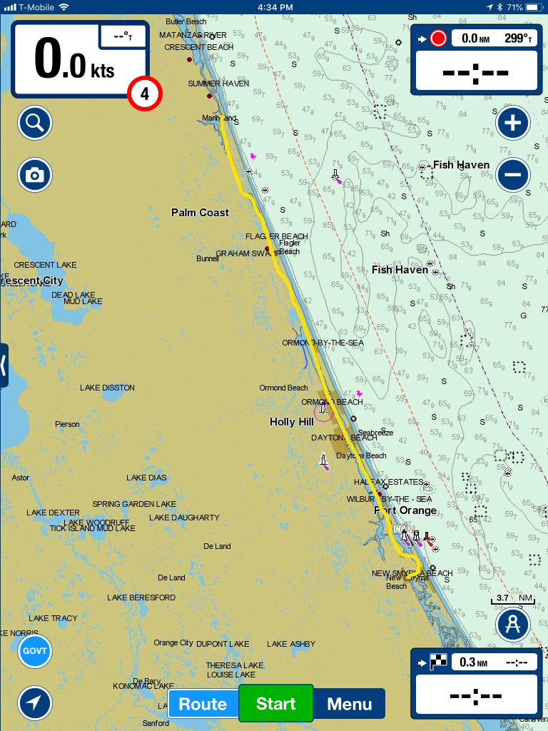 Oh No!! Bridge Closed – And Exploring Marineland, Florida | Technomadia - Marineland Florida Map