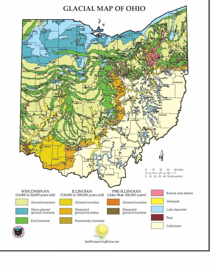 Gold Prospecting In Texas Map